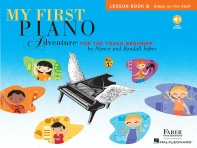 My First Piano Adventure, Lesson Book B [With CD (Audio)]