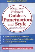 Merriam-Webster's Guide to Punctuation and Style, 2/e