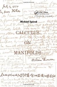 [해외]Calculus On Manifolds