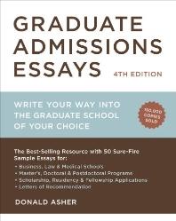 [해외]Graduate Admissions Essays