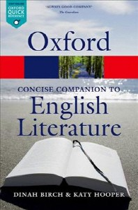 [해외]The Oxford Concise Companion to English Literature
