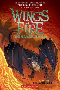 [해외]The Dark Secret (Wings of Fire Graphic Novel #4)