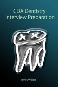 [해외]CDA Dentistry Interview Preparation
