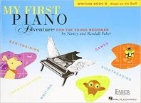 [해외]My First Piano Adventure, Writing Book B, Steps on the Staff