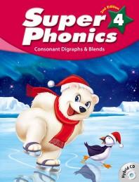 Super Phonics(슈퍼 파닉스). 4(SB)(2판)(CD2장포함)
