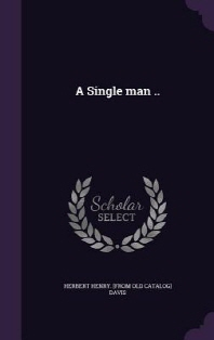 A Single Man ..