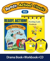 Pack-Ready Action Classic(Mid): The Farting Lady(SB+WB+CD)(CD2장포함)(전2권)