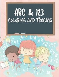 [해외]ABC & 123 Coloring and Tracing