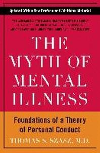 [해외]The Myth of Mental Illness