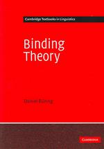 Binding Theory (Paperback)(Paperback)