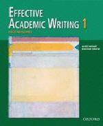 Effective Academic Writing 1(Student Book)