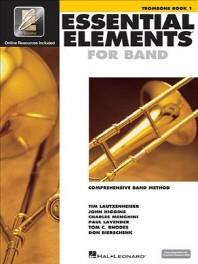 [해외]Essential Elements for Band - Trombone Book 1 with Eei