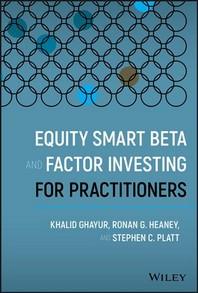 [해외]Equity Smart Beta and Factor Investing for Practitioners