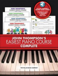 [해외]John Thompson's Easiest Piano Course - Complete