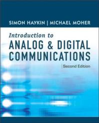 Introduction to Analog and Digital Communications (Hardcover)