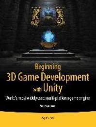 [해외]Beginning 3D Game Development with Unity (Paperback)