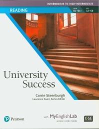 University Success Reading  Intermediate to High-Intermediate w/MEL