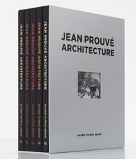 Jean Prouve Architecture - Coffret 3 (5 Vol) /Francais/Anglais