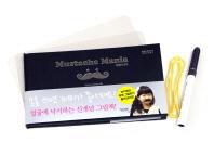 수염마니아(Mustache Mania)(손으로 즐기는 토이북 시리즈 1)(양장본 HardCover)