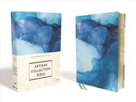 [해외]Niv, Artisan Collection Bible, Cloth Over Board, Blue, Art Gilded Edges, Red Letter Edition, Comfort Print (Hardcover)