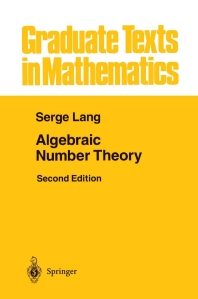 [해외]Algebraic Number Theory
