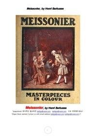 프랑스화가 메소니에. Meissonier, by Henri Barbusse