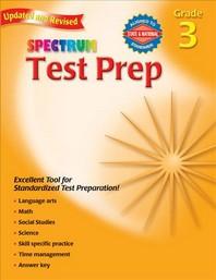 Spectrum Test Prep, Grade 3, UPD/E, UPD/E, UPD/E