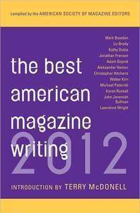 [해외]The Best American Magazine Writing 2012 (Paperback)