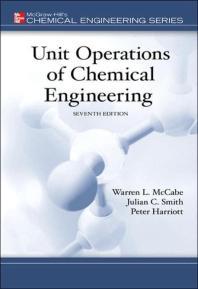 [해외]Unit Operations of Chemical Engineering (Hardcover)