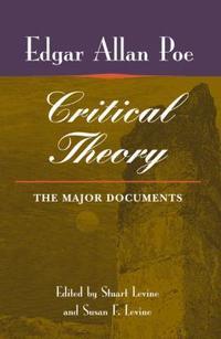 [해외]Poe's Critical Theory (Hardcover)