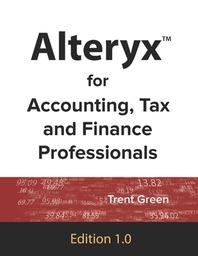 [해외]Alteryx for Accounting, Tax and Finance Professionals