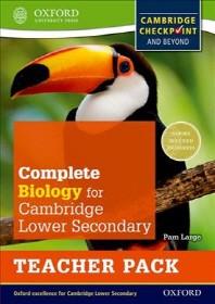 [해외]Complete Biology for Cambridge Secondary 1 Teacher Pack (Paperback)