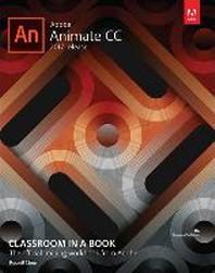 [해외]Adobe Animate CC Classroom in a Book (2017 Release) (Paperback)
