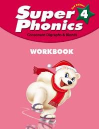 Super Phonics(슈퍼 파닉스). 4(WB)(2판)