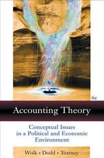 Accounting Theory 6/E