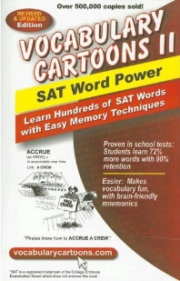 [해외]Vocabulary Cartoons II, SAT Word Power