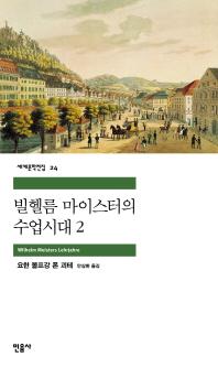 빌헬름 마이스터의 수업시대 2(세계문학전집 24)
