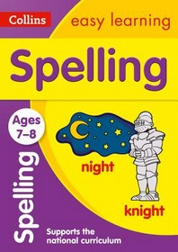 [해외]Collins Easy Learning Age 7-11 -- Spelling Ages 7-8 (Paperback)