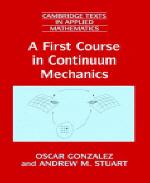 [해외]A First Course in Continuum Mechanics