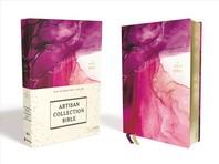 [해외]Niv, Artisan Collection Bible, Cloth Over Board, Pink, Art Gilded Edges, Red Letter Edition, Comfort Print (Hardcover)