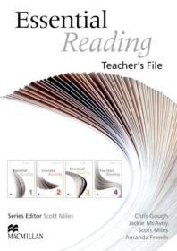 ESSENTIAL READING(TEACHER S FILE)(CD1장포함)