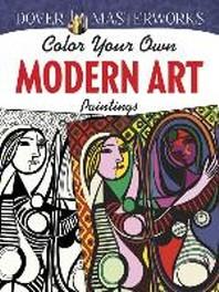 [해외]Color Your Own Modern Art Paintings