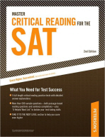 MASTER CRITICAL READING FOR THE SAT