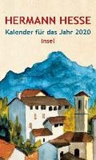 Insel-Kalender fuer das Jahr 2020