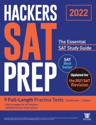 HACKERS SAT PREP: The Essential SAT Study Guide(2022)(2판)