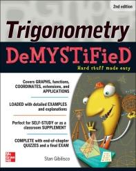 [해외]Trigonometry Demystified 2/E