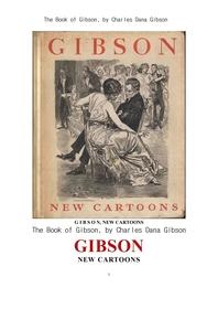 깁손의 새로운 만화 그림책.The Book of Gibson` New Cartoons, by Charles Dana Gibson