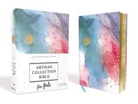 [해외]Niv, Artisan Collection Bible for Girls, Cloth Over Board, Multi-Color, Art Gilded Edges, Red Letter Edition, Comfort Print (Hardcover)
