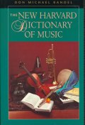 New Harvard Dictionary of Music