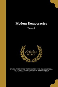 [해외]Modern Democracies; Volume 2 (Paperback)
